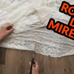 Cum am Transformat o Rochie Veche în Rochie de Mireasă – Tutorial